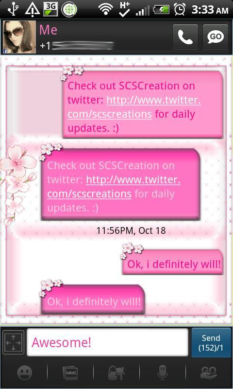 Go SMS Themes