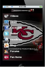 Kansas City Football Fan App