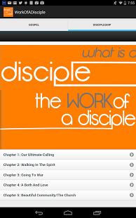 What Is A Disciple?-Work