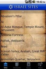 Israel Sites cl childlove all sites