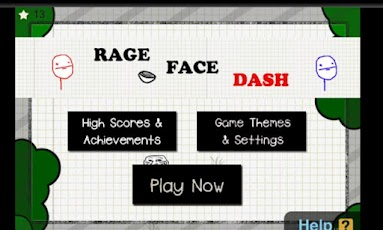Rage Face Dash face photo rage
