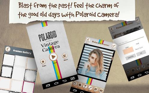 Polaroid Frames – Vintage Camera - Apps on Android App | Desolisi