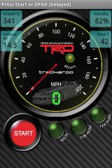 TRD Speedo Dynomaster Layout