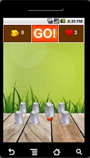 Thimbles - Spiel mit Fingerhut