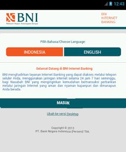 Internet Banking BNI