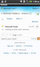 Faster Hotmail