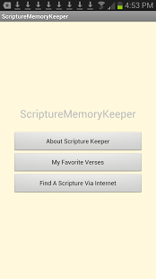 Scripture Memory Keeper