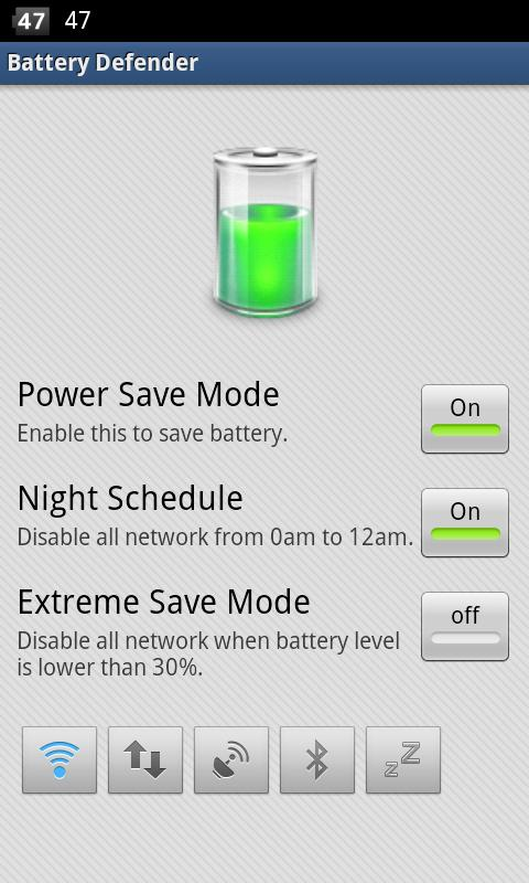 Battery Defender-Battery Saver battery