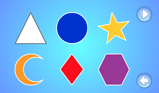 Preschool Shapes And Colors Android App : Light Bender