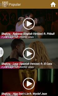 Shakira All Videos