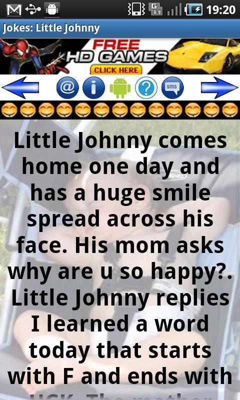 Jokes: Little Johnny 2.4