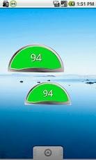 Fuel Gauge Battery Widget digital fuel gauge