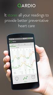 Qardio blood pressure monitor