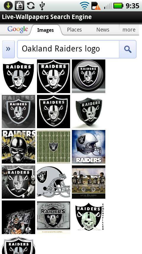 Oakland Raiders Live Wallpaper 2 0 Android App