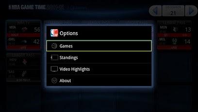NBA Game Time for Google TV me tv