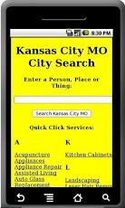 Kansas City MO City Search