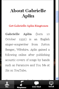 Gabrielle Aplin Ringtones Plus
