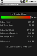 Zen Broadband Checker