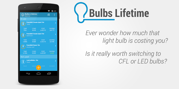 Light Bulbs Lifetime