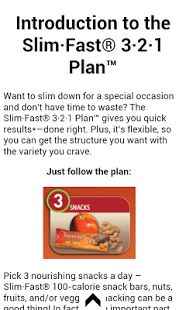 Slim Fast with 3·2·1 Plan