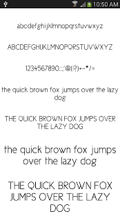Clean Fonts for FlipFont free
