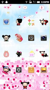 Lovely Doll Theme GO Launcher