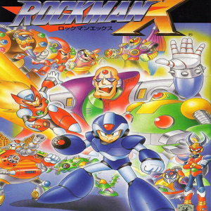 Mega Man X credit mega shopping