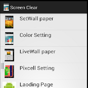 Screen Clear Screen savers