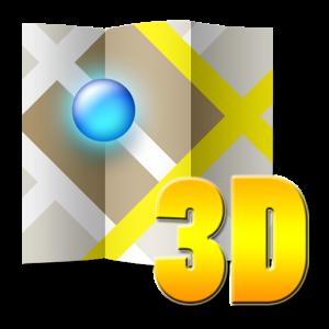 3D map Malta malta