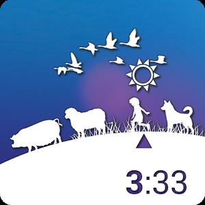 Daily Life Clock Widget korean life widget
