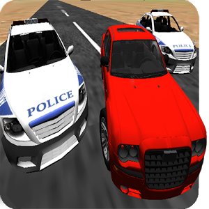 Police chase 3d unreal cops
