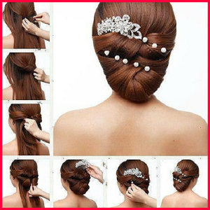 Hair Styles(step by step) doa qibla step