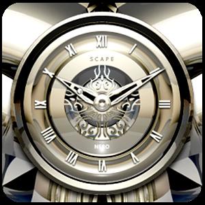 NERO Luxury Clock Widget