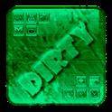 Dirty Green dirty emoticon