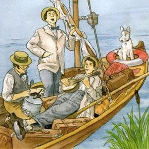 описание героев трое в лодке