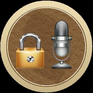 Voice phone lock emoji phone voice