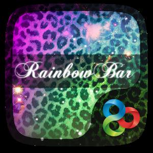 Rainbow Bar GO Launcher Theme