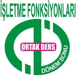 AÖF DÖNEMSONU İŞLETME FONKSİY.