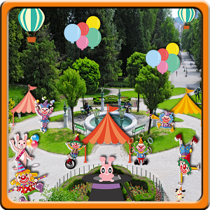 Circus sticker