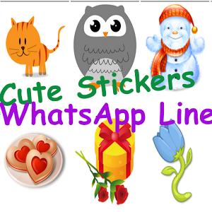 Cute sticker for WhatsApp Line