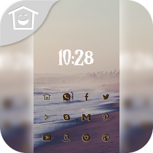 Charming sea beach theme