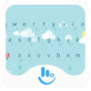 Weather Cloudy Keyboard Theme