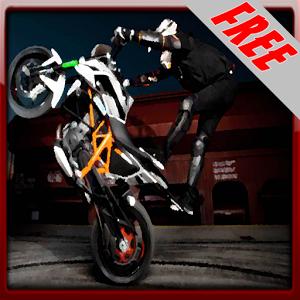Stunt Biker Man