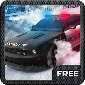 Police Car`s Crazy Drift Free