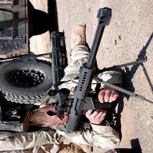Military war: sniper war