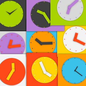 Wow KitKat Clock Widgets clock information kitkat