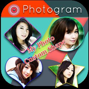 PhotoGram : Insta Shape Share insta share