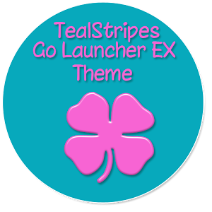 TealStripes GoLauncherEX Theme golauncherex music wallpaper