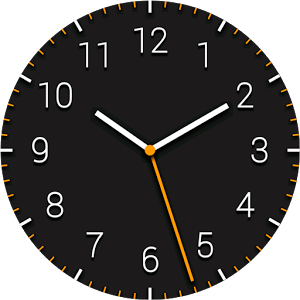 Dark Analog Free Watch Face