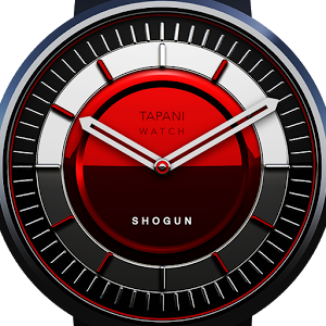 watch face Shogun red
